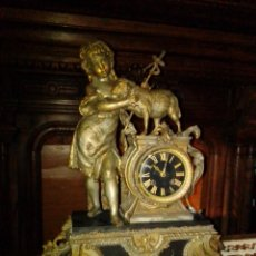 Relojes de carga manual: ANTIGUO Y GRANDE RELOJ DE SACRISTÍA. S. XIX.. Lote 182179687