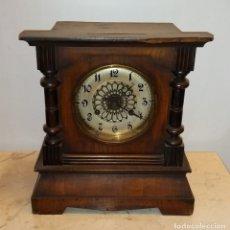 Relojes de carga manual: RELOJ SOBREMESA MADERA CARGA MANUAL. Lote 182314303