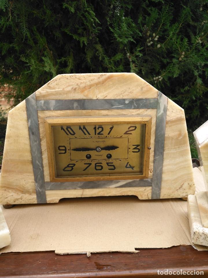Relojes de carga manual: RELOJ SOBREMESA ESTILO DECO. - Foto 2 - 182666811