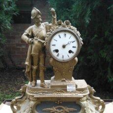 Relojes de carga manual: RELOJ CALAMINA CON CABALLERO. Lote 182670736