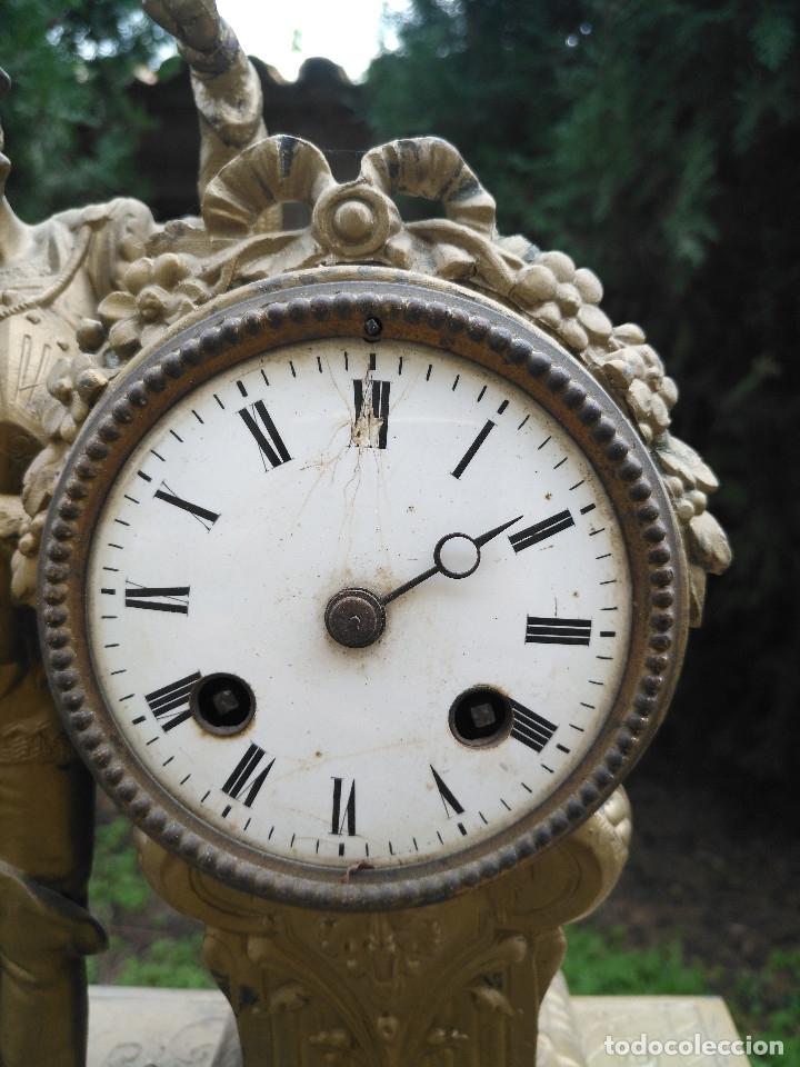 Relojes de carga manual: RELOJ CALAMINA CON CABALLERO - Foto 2 - 182670736