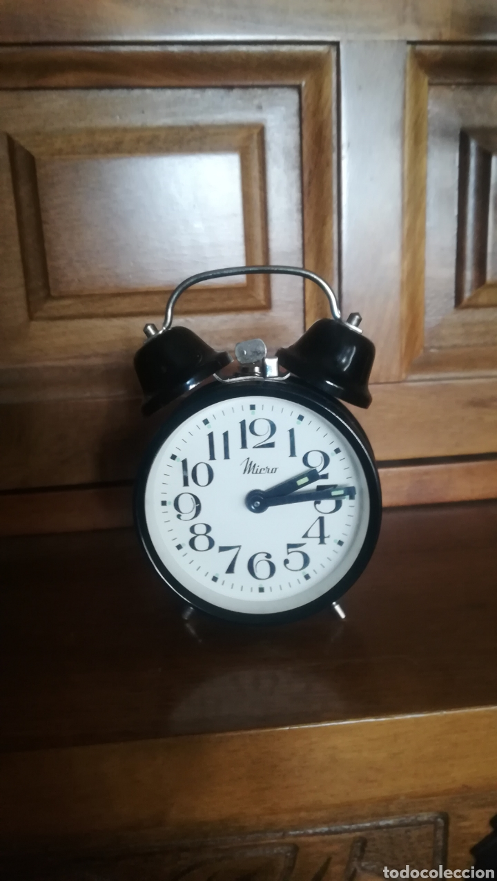 RELOJ DESPERTADOR, MICRO (Relojes - Sobremesa Carga Manual)