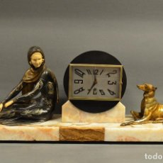 Relojes de carga manual: RELOJ DE SOBREMESA ART DECO. Lote 184086877