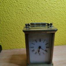 Relojes de carga manual: RELOJ DE CARRUAJE DEL XIX. Lote 184099196