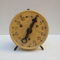 Relojes de carga manual: ANTIGUO RELOJ TEMPORIZADOR 60 MINUTOS , CARGA MANUAL. Lote 184213912