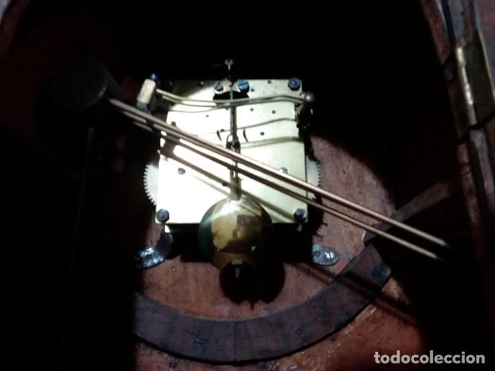 Relojes de carga manual: Reloj de chimenea. Años 40 - Foto 4 - 195366995