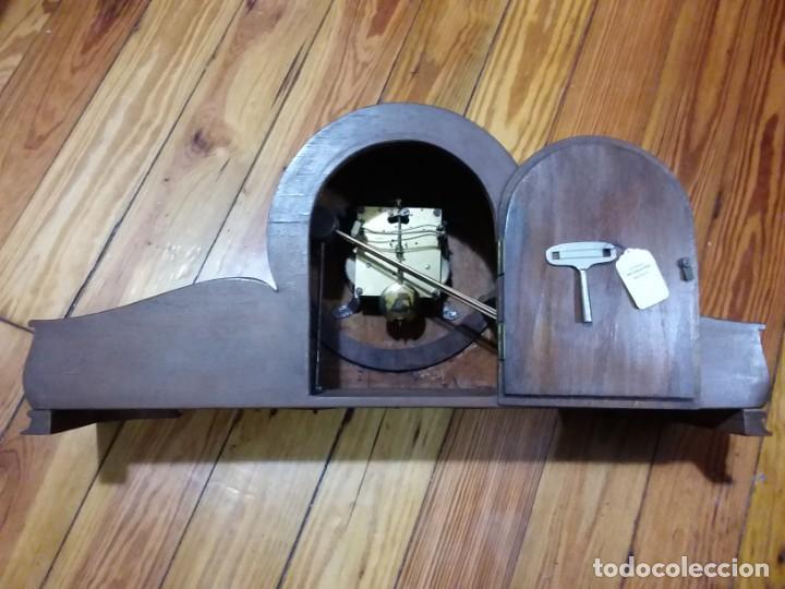 Relojes de carga manual: Reloj de chimenea. Años 40 - Foto 5 - 195366995
