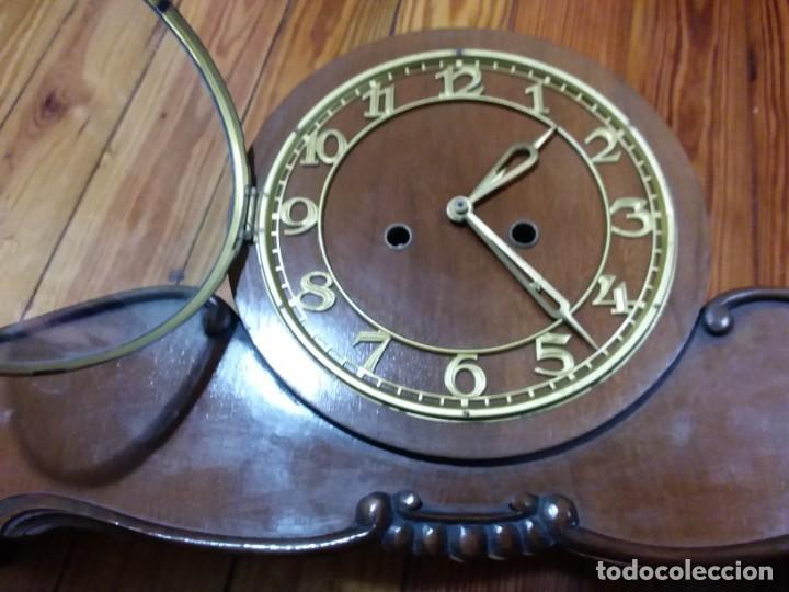 Relojes de carga manual: Reloj de chimenea. Años 40 - Foto 7 - 195366995