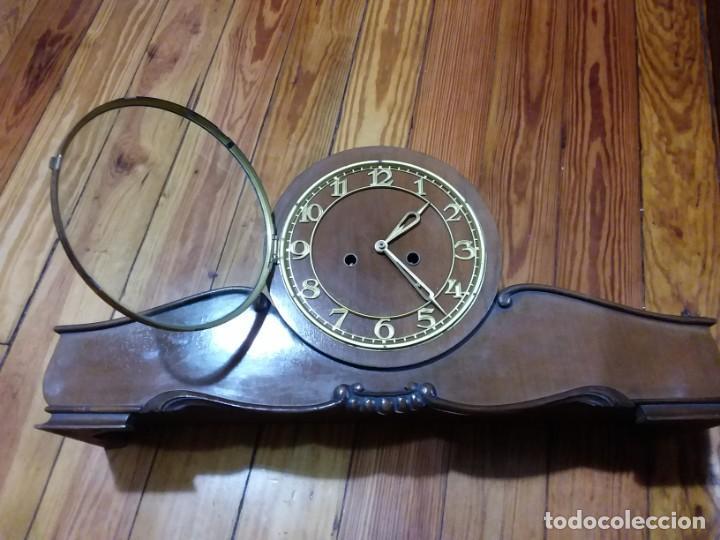 Relojes de carga manual: Reloj de chimenea. Años 40 - Foto 8 - 195366995