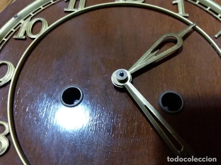 Relojes de carga manual: Reloj de chimenea. Años 40 - Foto 9 - 195366995