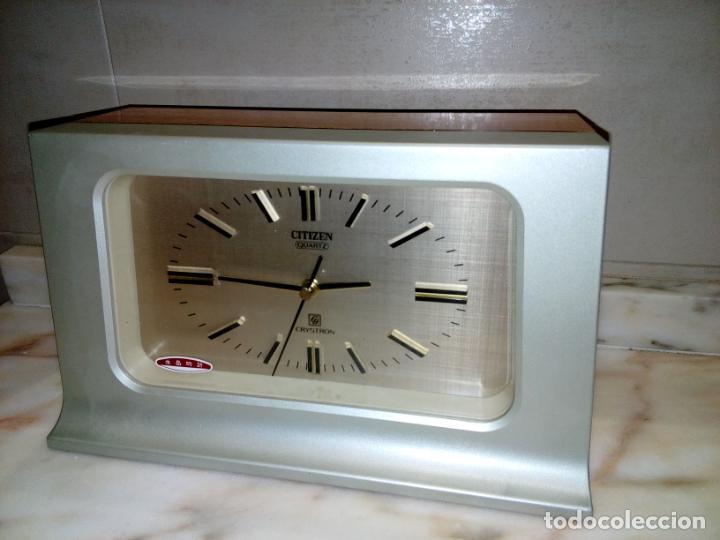 Relojes de carga manual: RELOJ DE SOBREMESA CITIZEN CRYSTRON QUARZO - Foto 2 - 184279766