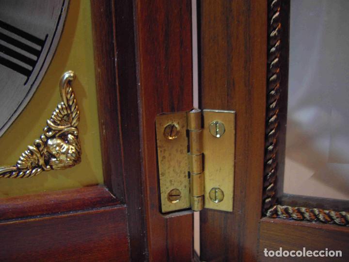 Relojes de carga manual: RELOJ MESA URNA MADERA - Foto 7 - 184380896