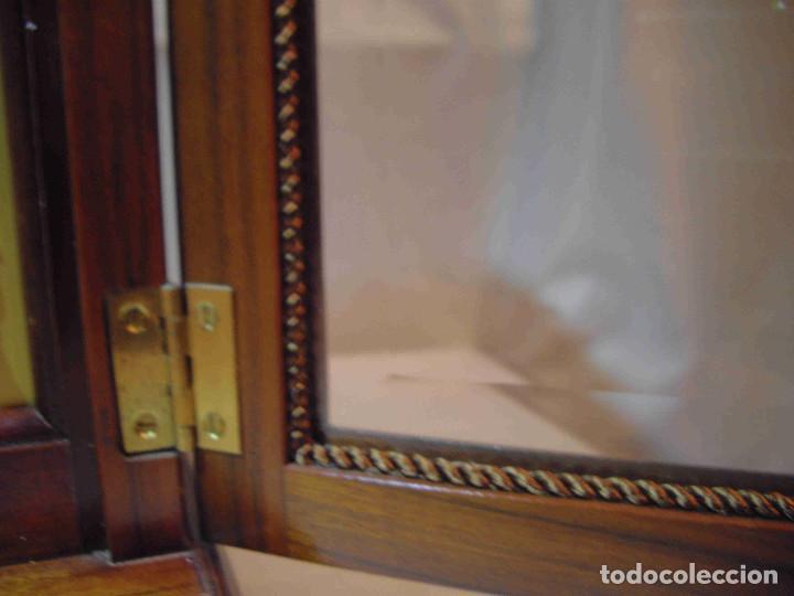 Relojes de carga manual: RELOJ MESA URNA MADERA - Foto 9 - 184380896