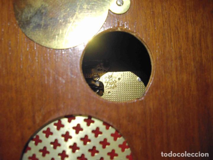 Relojes de carga manual: RELOJ MESA URNA MADERA - Foto 14 - 184380896