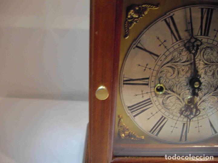 Relojes de carga manual: RELOJ MESA URNA MADERA - Foto 15 - 184380896