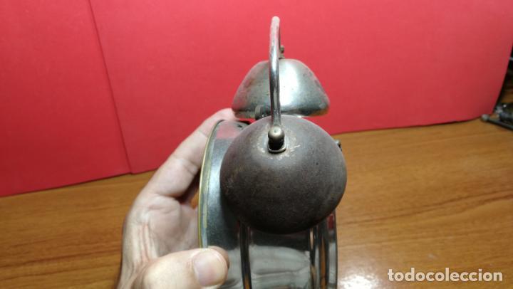 Relojes de carga manual: Reloj despertador de la guerra civil española, marca EL AGUILA, años 30 - Foto 40 - 184818558