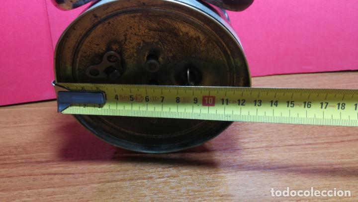 Relojes de carga manual: Reloj despertador de la guerra civil española, marca EL AGUILA, años 30 - Foto 55 - 184818558