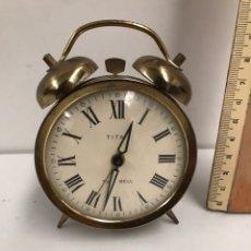Relojes de carga manual: RELOJ TITÁN DE MESA. Lote 184858220