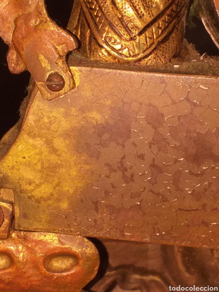 Relojes de carga manual: Reloj de bronce pegada en mármol - Foto 7 - 186189853