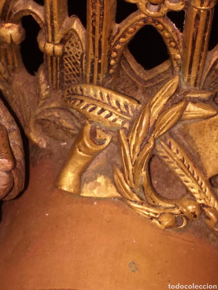 Relojes de carga manual: Reloj de bronce pegada en mármol - Foto 10 - 186189853