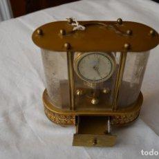 Relojes de carga manual: RELOJ SOBREMESA CON CAJA MUSICAL. Lote 186305063