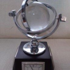 Relojes de carga manual: ESTACIÓN METEOROLÓGICA CON RELOJ BOLA MUNDI SOBREMESA. Lote 187211628
