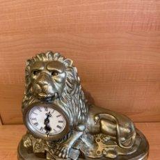Relojes de carga manual: RELOJ AUTÓMATA BRADLEY & HUBBARD. FIGURA DE LEON. Lote 187431963