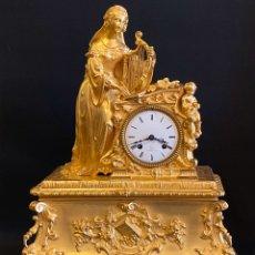 Relojes de carga manual: RELOJ CHARLES X. BRONCE DORADO AL MERCURIO. Lote 187493166