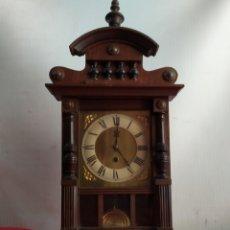 Relojes de carga manual: GRAN RELOJ DE SOBREMESA ALFONSINO SIGLO XIX. Lote 187504540