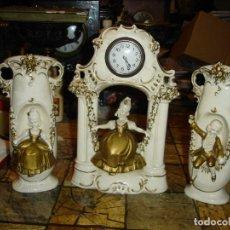 Relojes de carga manual: BONITO RELOJ EN PORCELANA SIGLO XIX VER FOTOS DE COLECCION. Lote 188539876