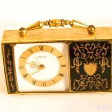 Relojes de carga manual: RELOJ DESPERTADOR MUSICAL DE SOBREMESA SWIZA. Lote 206843385