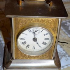 Relojes de carga manual: ANTIGUO RELOJ CARRUAJE JUNGHANS. FUNCIONANDO.. Lote 190529046
