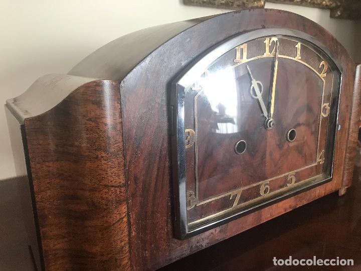 RELOJ DE SOBREMESA EN PERFECTO ESTADO (Relojes - Sobremesa Carga Manual)