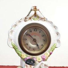 Relojes de carga manual: RELOJ KIENZLE DE SOBREMESA. PORCELANA ESMALTADA. BAILARINES. SIGLO XIX-XX. . Lote 191031053