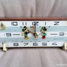Relojes de carga manual: ANTIGUO Y RARO RELOJ A CUERDA DE SOBREMESA. Lote 191273730
