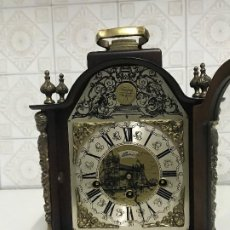Relojes de carga manual: RELOJ DE SOBREMESA DE SONERIA MARCA LAURIS. Lote 191303378