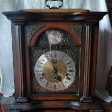 Relojes de carga manual: ANTIGUO RELOJ DE SOBREMESA TEMPUS FUGIT.SONIDO TIPO WESTMINSTER .TOCA TAMBIÉN LOS CUARTOS.. Lote 191318551