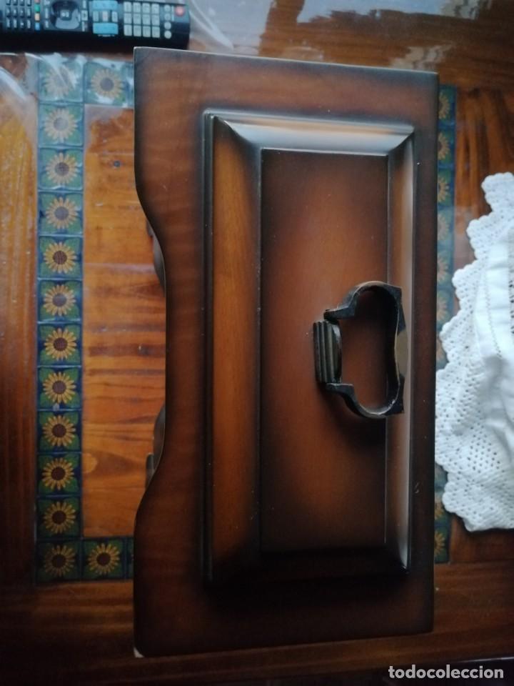 Relojes de carga manual: ANTIGUO RELOJ DE SOBREMESA TEMPUS FUGIT.SONIDO TIPO WESTMINSTER .TOCA TAMBIÉN LOS CUARTOS. - Foto 15 - 191318551