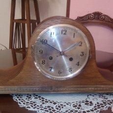 Relógios de carga manual: RELOJ SOBREMESA- ESTILO SOMBRERO NAPOLEÓN.EN PERFECTO FUNCIONAMIENTO.. Lote 191369635