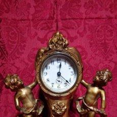 Relojes de carga manual: PRECIOSO RELOJ SOBREMESA AMERICANO JENNINGS BROTHERS FINALES SIGLO XIX LINEAS DE DISEÑO ART NOVEAU. Lote 191389783