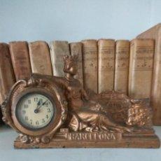Relojes de carga manual: RELOJ DE SOBREMESA, BARCELONA 1929. Lote 191871848