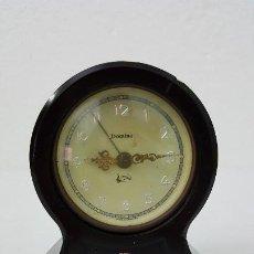 Relojes de carga manual: RELOJ MARCA DOMINO ALEMÁN DE BAQUE LITA CON DESPERTADOR MUSICAL. Lote 191941703