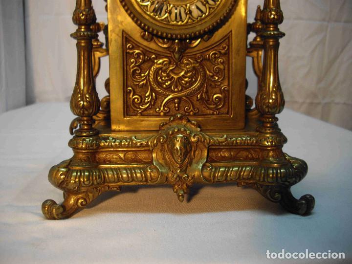 Relojes de carga manual: RELOJ BRONCE LAMBERT LEVY - Foto 2 - 192256267