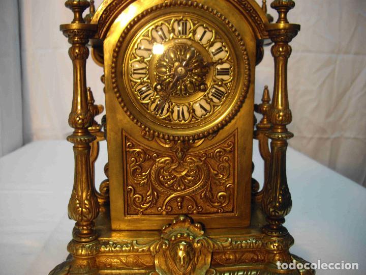 Relojes de carga manual: RELOJ BRONCE LAMBERT LEVY - Foto 3 - 192256267