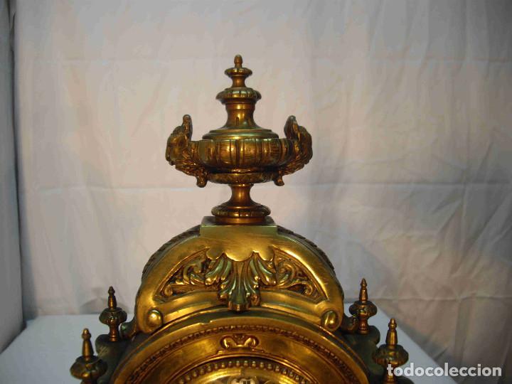 Relojes de carga manual: RELOJ BRONCE LAMBERT LEVY - Foto 4 - 192256267