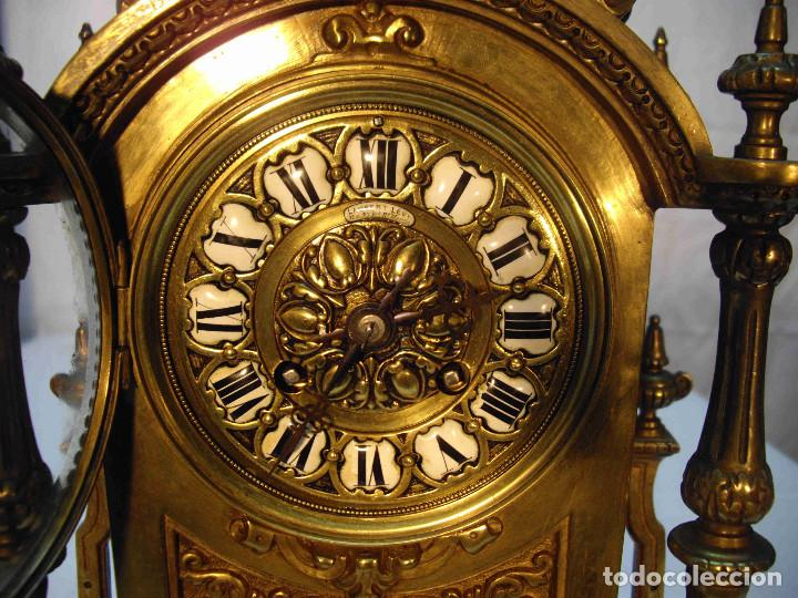 Relojes de carga manual: RELOJ BRONCE LAMBERT LEVY - Foto 5 - 192256267
