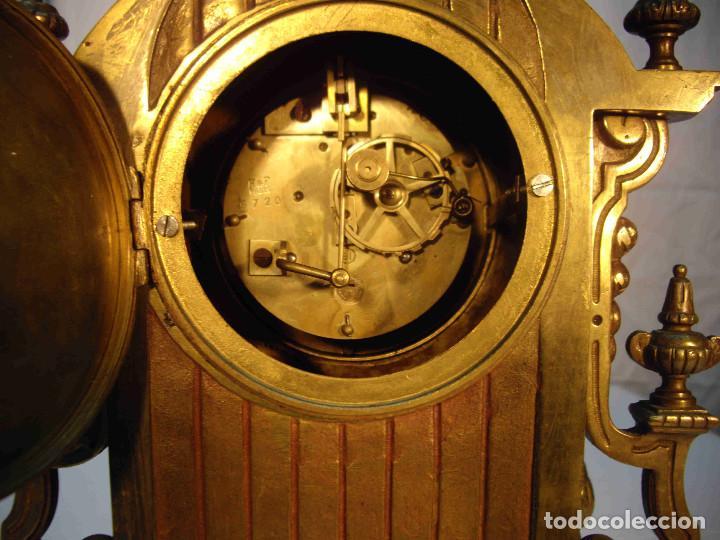 Relojes de carga manual: RELOJ BRONCE LAMBERT LEVY - Foto 12 - 192256267