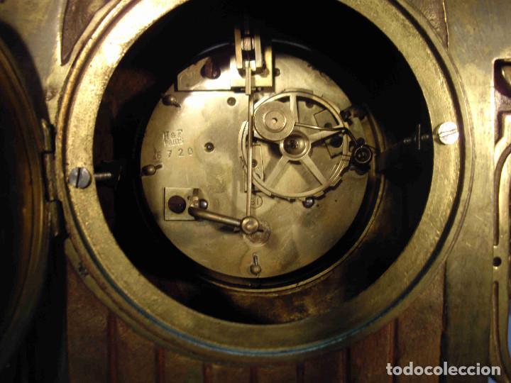 Relojes de carga manual: RELOJ BRONCE LAMBERT LEVY - Foto 13 - 192256267