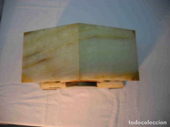 Relojes de carga manual: RELOJ MESA MARMOL BLANCO JASPEADO - Foto 10 - 192256823