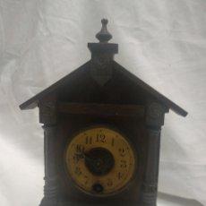Relojes de carga manual: RELOJ ANTIGUO DE SOBREMESA. Lote 192317341